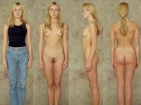 世界の女性の着衣時とヌードの比較画像2