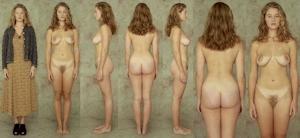 世界の女性の着衣時とヌードボディ比較画像 2