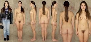 世界の女性の着衣時とヌードボディ比較画像 3