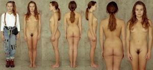 世界の女性の着衣時とヌードボディ比較画像 4