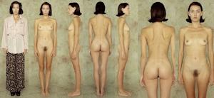 世界の女性の着衣時とヌードボディ比較画像 6