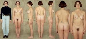 世界の女性の着衣時とヌードボディ比較画像 8