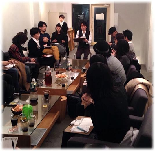 2014-01-30 原宿すごろく夜風景