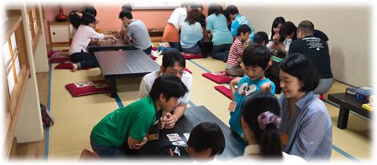 2014-07-13 親子ゲーム会:遊戯中全景