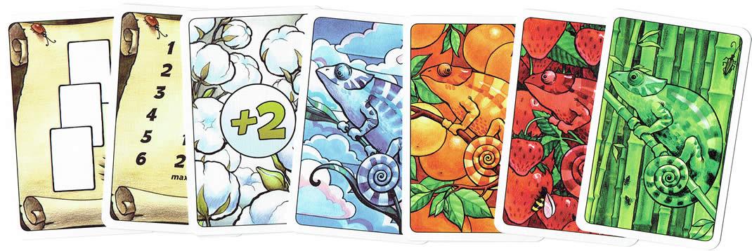 コロレット10周年記念版:カードサンプル