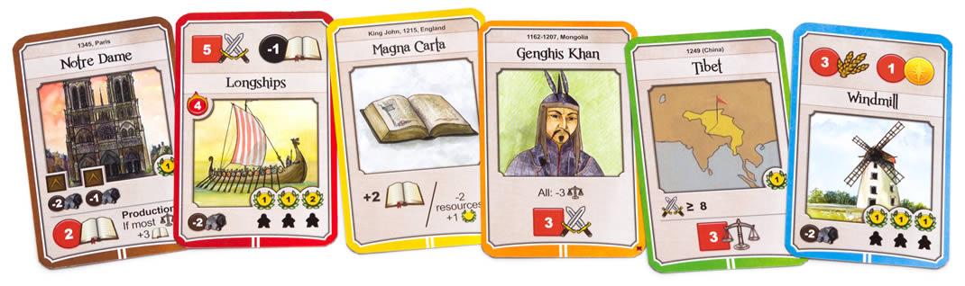 ネイションズ:時代2カード