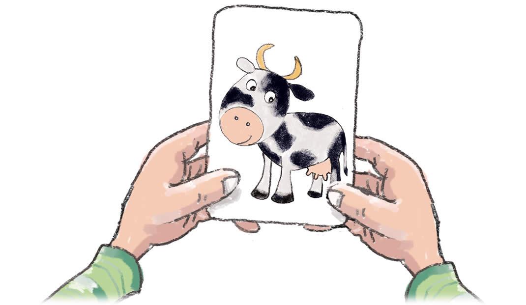 わたしはだあれ?:動物カード