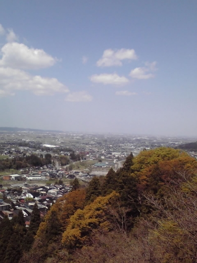 富山平野眺望