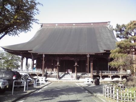 聞名寺本堂再訪