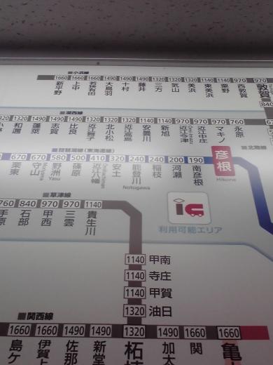 琵琶湖線路線図