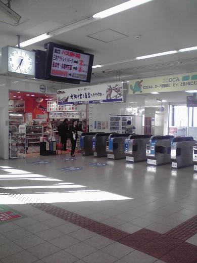 近江八幡駅改札