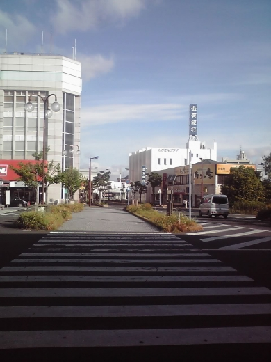 近江八幡駅前広場②