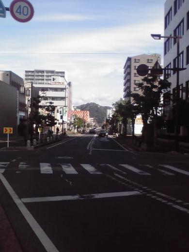 八幡山が見えてきました