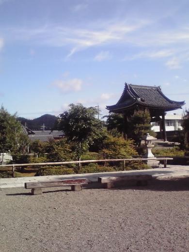 西光寺境内