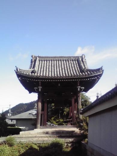 西光寺の鐘楼