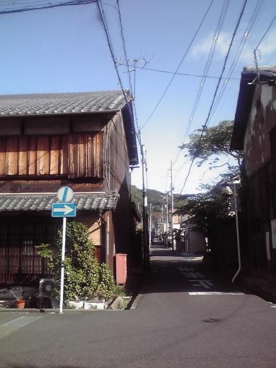 宇津呂町の辻にて