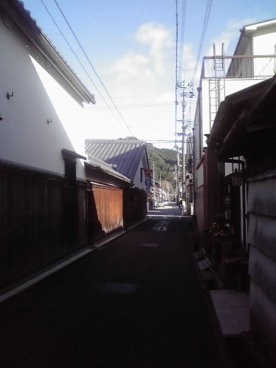 宇津呂町路地