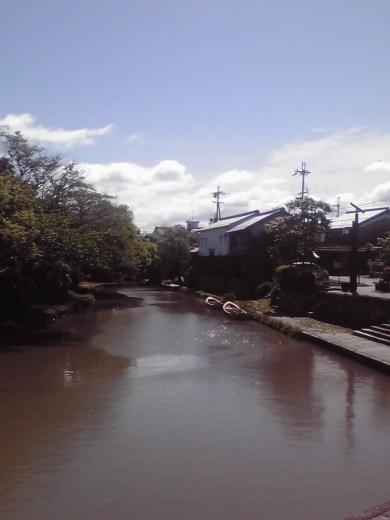 八幡堀の風景