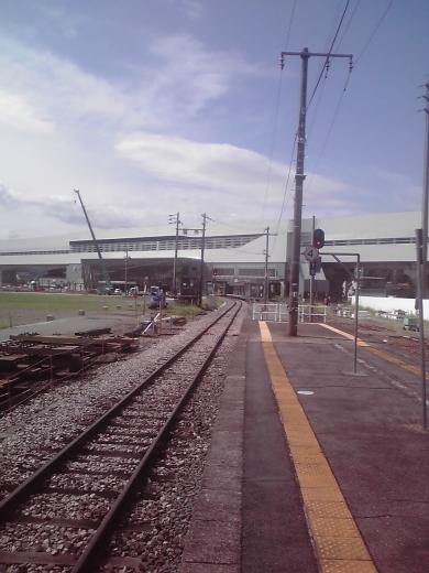 新幹線飯山駅