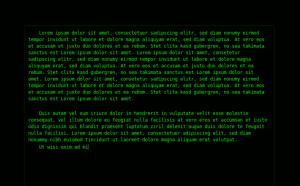 PyRoom(テキストエディタ)スクリーンショット