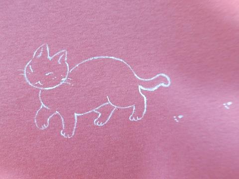 ピンク猫582