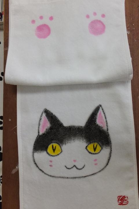 猫顔タオルDSCF1672 のコピー 2