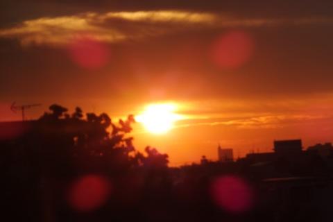 天点夕焼けDSCF2695 のコピー