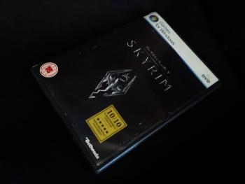 SkyrimのPC版を購入しましたが・・・
