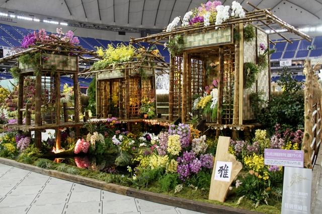 オープンクラス特別奨励賞 岡山県立興陽高等学校 造園デザイン科