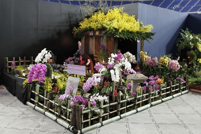 オープンクラス 奨励賞 「かぐや姫の世界」 東京都立農産高等学校
