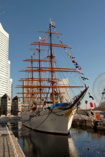 帆船日本丸 満船飾