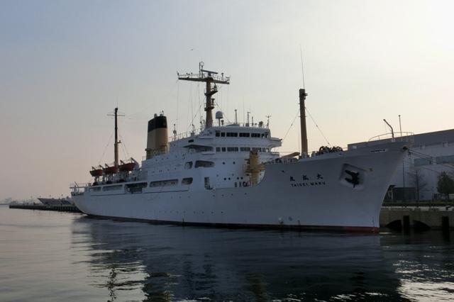 練習船 大成丸(独立行政法人航海訓練所所属)