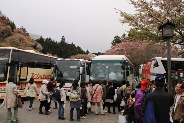 吉野山観光駐車場
