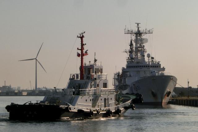 海上保安庁所属 巡視船「しきしま」
