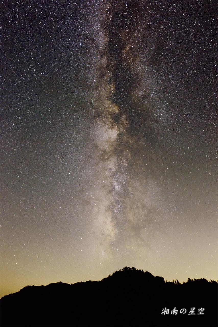 天の川の流星