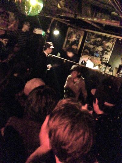 村田直哉 turntable solo at 新宿ローリングストーン (dj baku/jet sonic/LEF!!!CREW!!!)