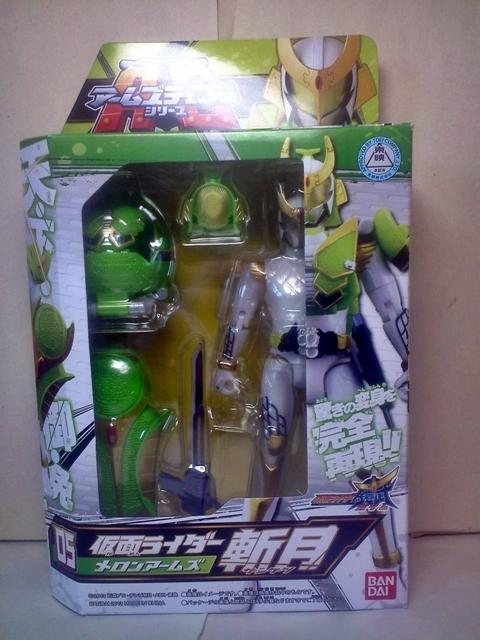 AC05仮面ライダー斬月メロンアームズ02