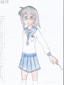 私の描いたキャラ1