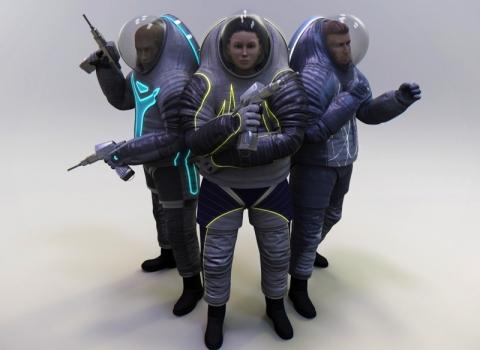 NASAが次世代宇宙服のスタイルを検討中