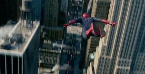 スパイダーマンはほぼ空を飛んでいた