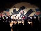 翠嵐 演劇「ガッコの階段物語」カーテンコール