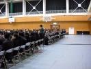 平成25年度卒業式会場 卒業生入場です