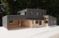 遊佐町の家模型写真