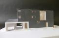 福島の家模型写真1:100