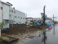 福島の家柱状改良工事