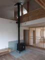 志波姫の家薪ストーブ設置