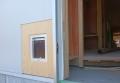 遊佐町の家外部猫ドア