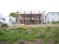 八木山の家建て方開始