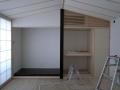 南光台の家内部造作和室