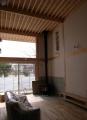 南光台の家薪ストーブ設置2